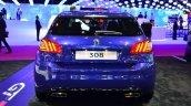 Peugeot 308 GT at the rear 2014 Paris Motor Show