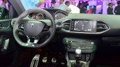 Peugeot 308 GT centre console at the 2014 Paris Motor Show