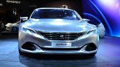 Peugeot Exalt Concept front at the 2014 Paris Motor Show