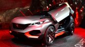 Peugeot Quartz front three quarter right at the 2014 Paris Motor Show
