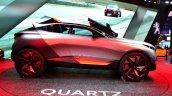 Peugeot Quartz profile side at the 2014 Paris Motor Show