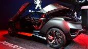 Peugeot Quartz rear three quarters door open at the 2014 Paris Motor Show