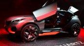 Peugeot Quartz side view door open at the 2014 Paris Motor Show