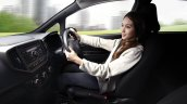 Proton Iriz press image driving position
