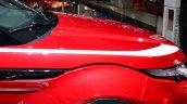 Range Rover Evoque SW1 bonnet at the 2014 Paris Motor Show