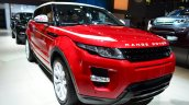Range Rover Evoque SW1 front three quarter at the 2014 Paris Motor Show