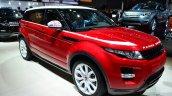Range Rover Evoque SW1 front three quarter right at the 2014 Paris Motor Show