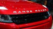 Range Rover Evoque SW1 nose at the 2014 Paris Motor Show
