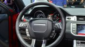 Range Rover Evoque SW1 steering wheel at the 2014 Paris Motor Show