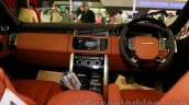 Range Rover LWB dashboard at the 2014 Indonesia International Motor Show