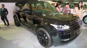 Range Rover LWB front three quarters left at the 2014 Indonesia International Motor Show
