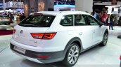 Seat Leon X-Perience rear three quarters right at the 2014 Paris Motor Show