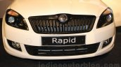 Skoda Rapid facelift Elegance Black Package front fascia