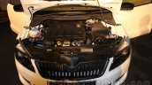Skoda Rapid facelift engine bay