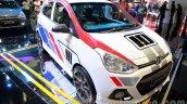 Sporty Hyundai Grand i10 at the 2014 Indonesia International Motor Show front quarters