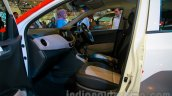 Sporty Hyundai Grand i10 at the 2014 Indonesia International Motor Show front seat