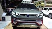 Ssangyong XIV-Adventure Concept front at the 2014 Paris Motor Show