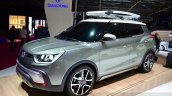 Ssangyong XIV-Adventure Concept front three quarters at the 2014 Paris Motor Show