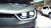 Ssangyong XIV-Adventure Concept headlamp at the 2014 Paris Motor Show