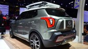 Ssangyong XIV-Adventure Concept rear three quarters left at the 2014 Paris Motor Show
