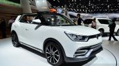 Ssangyong XIV-Air Concept front three quarters at the 2014 Paris Motor Show