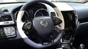 Ssangyong XIV-Air Concept steering wheel at the 2014 Paris Motor Show