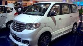 Suzuki APV Luxury at the 2014 Indonesia International Motor Show front quarter