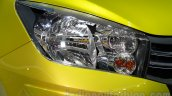 Suzuki Celerio headlamp at the Indonesia International Motor Show 2014