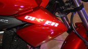Suzuki Gixxer tank extension at the 2014 Nepal Auto Show