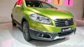 Suzuki SX-4 S-Cross front three quarters at the Indonesia International Motor Show 2014
