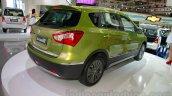 Suzuki SX-4 S-Cross rear three quarters at the Indonesia International Motor Show 2014