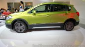 Suzuki SX-4 S-Cross side at the Indonesia International Motor Show 2014