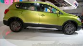 Suzuki SX-4 S-Cross side view at the Indonesia International Motor Show 2014