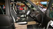 Tata Safari Storme Modified at the 2014 Indonesia International Motor Show front seat