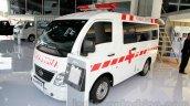 Tata Super Ace Ambulance at the 2014 Indonesia International Motor Show front quarter angle
