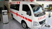 Tata Super Ace Ambulance at the 2014 Indonesia International Motor Show front quarter