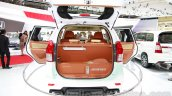 Toyota Avanza special edition rear open at the 2014 Indonesian International Motor Show