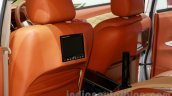 Toyota Avanza special edition screens on the seat backs at the 2014 Indonesian International Motor Show