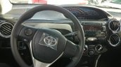 Toyota Etios facelift Brazil new steering wheel