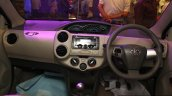 Toyota Etios Liva interior at the 2014 Nepal Auto Show