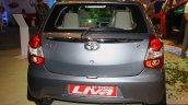 Toyota Etios Liva rear at the 2014 Nepal Auto Show