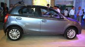 Toyota Etios Liva right side at the 2014 Nepal Auto Show