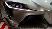 Toyota FT-1 concept headlamp at the 2014 Indonesia International Motor Show