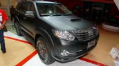 Toyota Fortuner 4X4 special Edition front three quarters at the Indonesian International Motor Show 2014