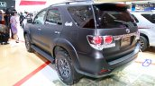 Toyota Fortuner 4X4 special Edition rear three quarters at the Indonesian International Motor Show 2014