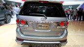 Toyota Fortuner TRD Edition rear at the Indonesian International Motor Show 2014