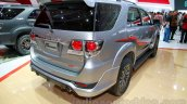 Toyota Fortuner TRD Edition rear three quarters left at the Indonesian International Motor Show 2014