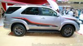 Toyota Fortuner TRD Edition side at the Indonesian International Motor Show 2014