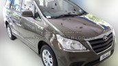 Toyota Innova Limited Edition front three quarters
