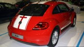 VW Beetle rear three quarter at the 2014 Philippines International Motor Show